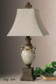 Francavilla Ivory Table Lamp  - LUT2912