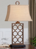 Dardenne Bronze Table Lamp  - LUT2940