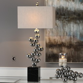 Kesi Metal Spheres Table Lamp - LUT6173