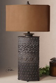 Shakia Olive Bronze Table Lamp   - LUT7010