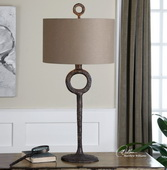 Ferro Cast Iron Table Lamp  - LUT7011