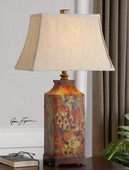 Colorful Flowers Table Lamp  - LUT3120