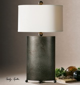 Ruggine Rust Silver Table Lamp  - LUT7017