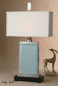 Azure Light Blue Table Lamp  - LUT7027