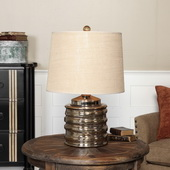 Camerano Mercury Glass Table Lamp - LUT2741