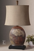 Yunu Distressed Table Lamp  - LUT7041
