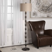 Pamlico Oxidized Bronze Floor Lamp