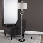 Cadeyrn Forged Steel Floor Lamp