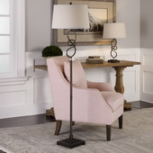 Tenley Twisted Bronze Floor Lamp - LUT6253