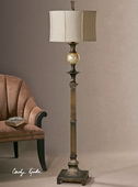 Tusciano Dark Bronze Floor Lamp  - LUT3336
