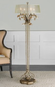 Alenya Gold Floor Lamp  - LUT7048