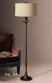 Lahela Copper Bronze Floor Lamp  - LUT3358