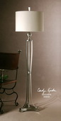 Tristana Nickel Floor Lamp  - LUT7052