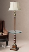 Myron Twist End Table Floor Lamp  - LUT3404