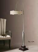 Amerigo Brushed Aluminum Floor Lamp  - LUT3426