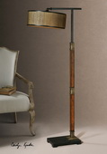 Allendale Drum Shade Floor Lamp  - LUT7059