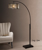 Cairano Drum Shade Floor Lamp - LUT2763