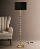 Quindici Metal Bamboo Floor Lamp - LUT2765