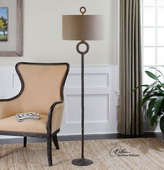 Ferro Cast Iron Floor Lamp  - LUT7063