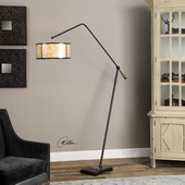 Newburgh Drum Shade Floor Lamp - LUT2787