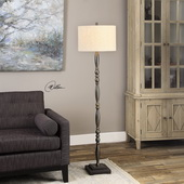 Charleston Dark Bronze Floor Lamp - LUT2789