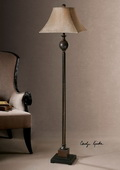 Villaga Rust Brown Floor Lamp  - LUT7064