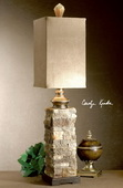 Andean Layered Stone Buffet Lamp  - LUT7072