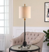 Halvern Metal Buffet Lamp - LUT2827