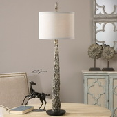 Tegal Old Wood Buffet Lamp - LUT2863