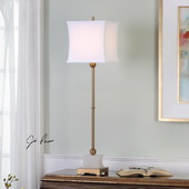 Liano Brushed Brass Buffet Lamp