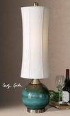 Atherton Blue Buffet Lamp  - LUT3646