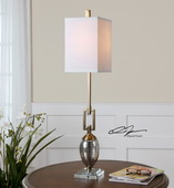 Copeland Mercury Glass Buffet Lamp  - LUT7087