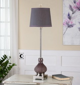 Charoite Deep Purple Buffet Lamp - LUT2867