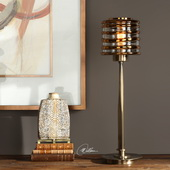 Tovel Antique Brass Lamp - LUT6363