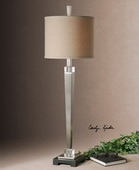 Terme Brushed Nickel Buffet Lamp - LUT2881