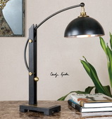 Malcolm Oil Rubbed Bronze Desk Lamp - LUT2893