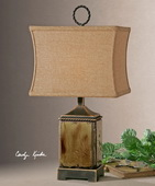 Porano Mossy Green Buffet Lamp  - LUT3862