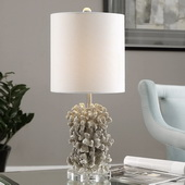 Silver Coral Table Lamp - LUT2901