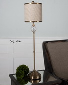 Dueville Coffee Bronze Buffet Lamp  - LUT7128