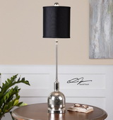 Brusson Polished Nickel Buffet Lamp  - LUT7146