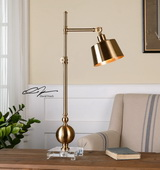 Laton Brushed Brass Task Lamp - LUT2917