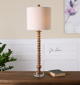 Andalucia Distressed Gold Buffet Lamp - LUT2923