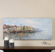 Overlooking The Sea Hand Painted Art - LUT2937