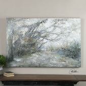 Forest Lane Canvas Art - LUT2949