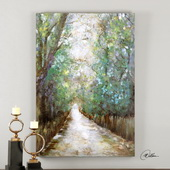 Greenway Hand Painted Art - LUT2951