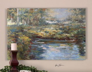 Lake James Hand Painted Wall Art  - LUT7301
