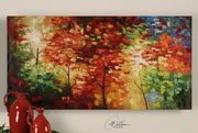 Bright Foliage Canvas Art  - LUT7303