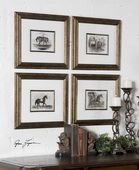 Horses Framed Art  - LUT7325