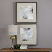 Abstract Vistas Framed Prints Set of 2 - LUT6463