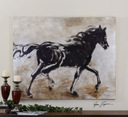 Blacks Beauty Horse Art  - LUT7364
